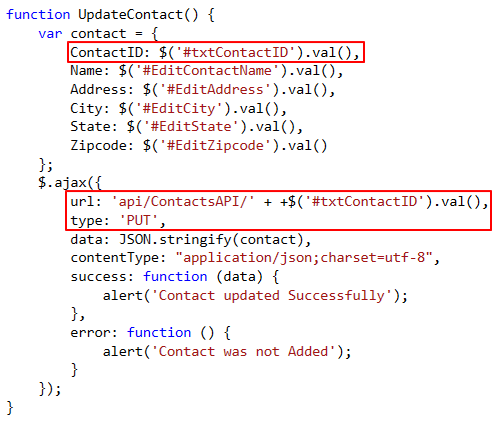 Invoke action method and send data usng jquery form serialize ...