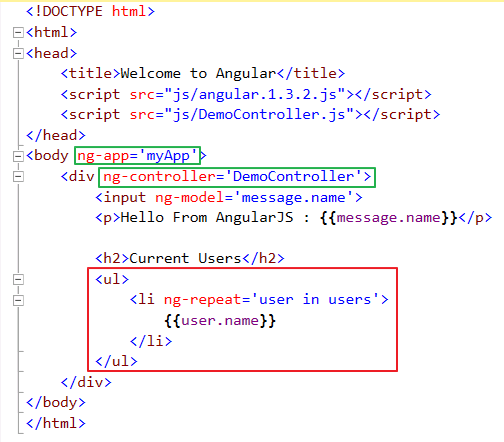 Binding JSON objects in AngularJS